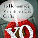 15 Homemade Valentine's Day Crafts