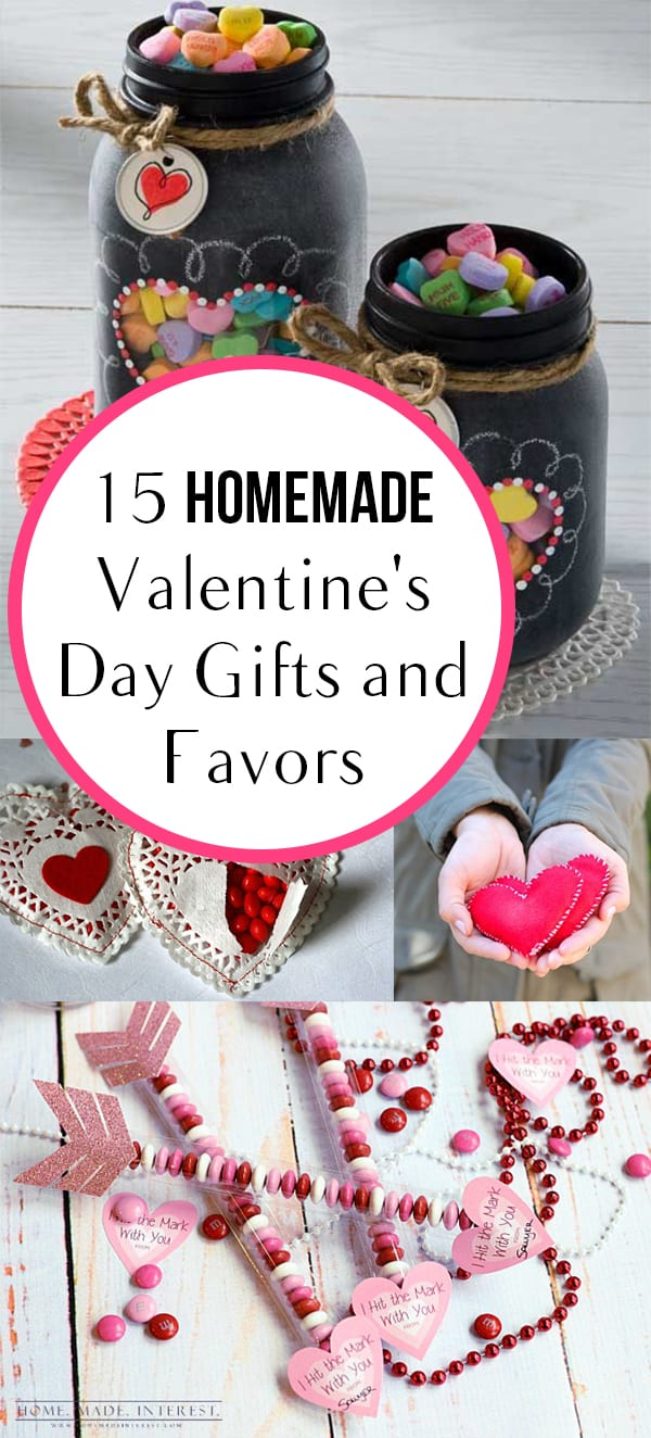 15 Homemade Valentine's Day Gifts and Favors