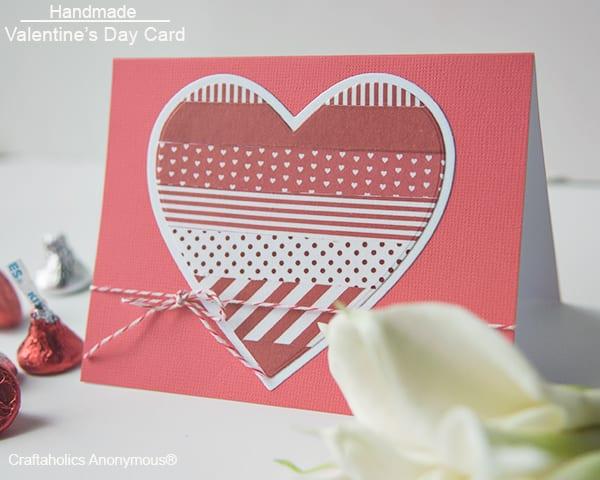 20 Easy Homemade Valentine Cards