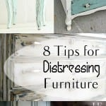 8 Tips for Distressing Furniture. How to Distress Furniture, DIstressing Furniture, DIY Home, DIY Home Decor, Furniture Hacks, DIY Furniture, Popular Pin. #diyhome #homedecor #homedecor #furnitureprojects #diyfurniture #homedecordiys