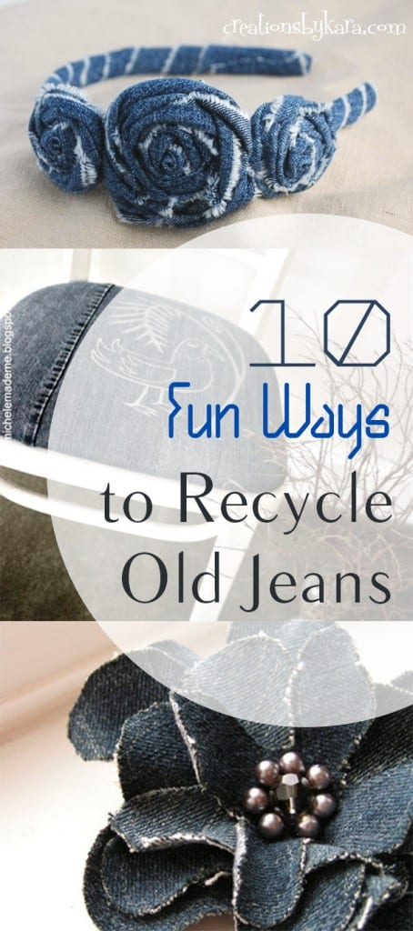10 Fun Ways to Recycle Old Jeans (1)