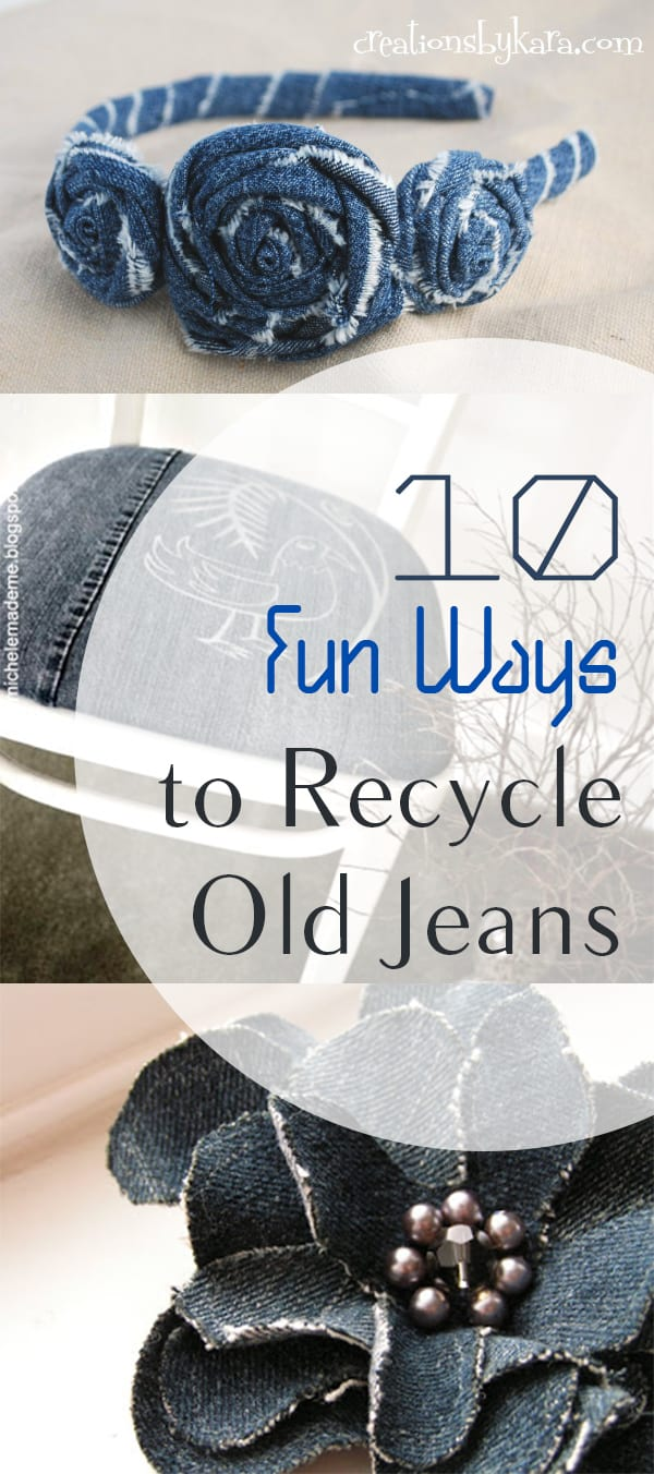 10 Fun Ways To Upcycle Old Jeans How To Build It