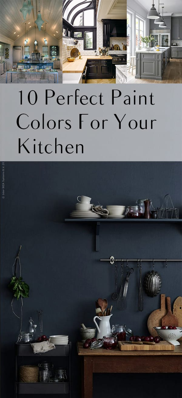 Gorgeous paint colors for your kitchen for Best colors to paint your kitchen