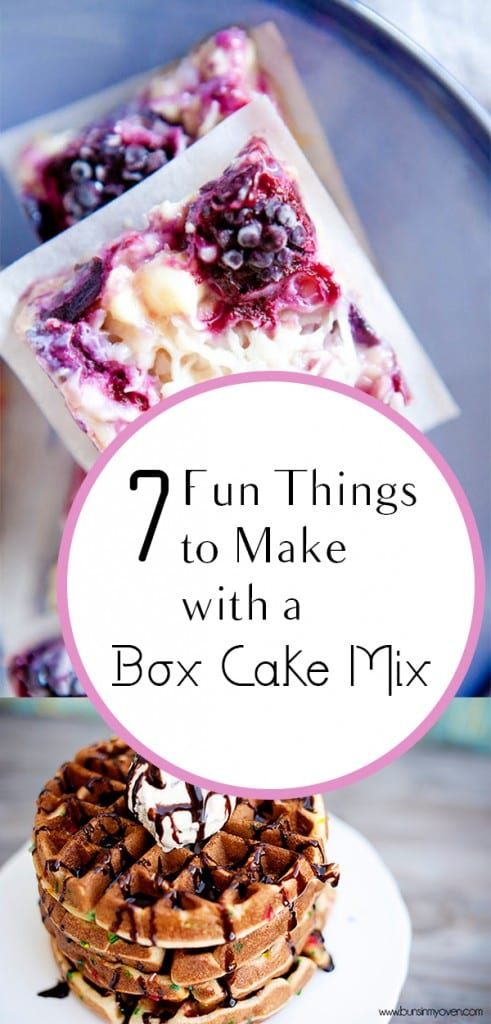 7 Fun Things to Make with a Box Cake Mix