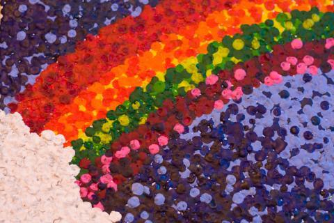 Crayon Pointillism for kids-1-16