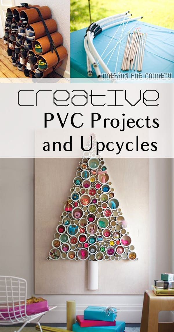 6 amazing pvc pipe upcycles or hacks how to build it for Pvc crafts