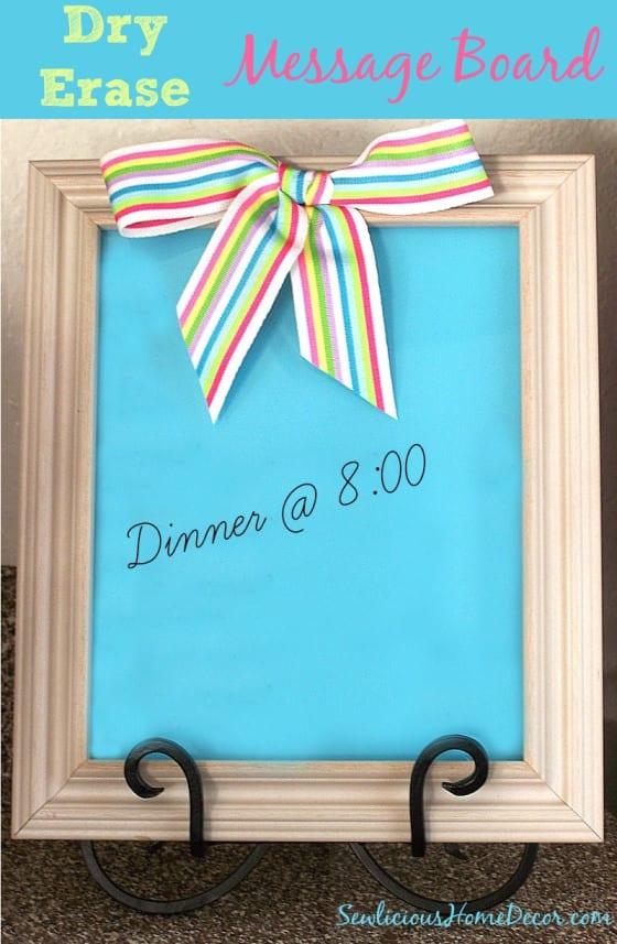 DIY-Dry-Erase-Message-Board