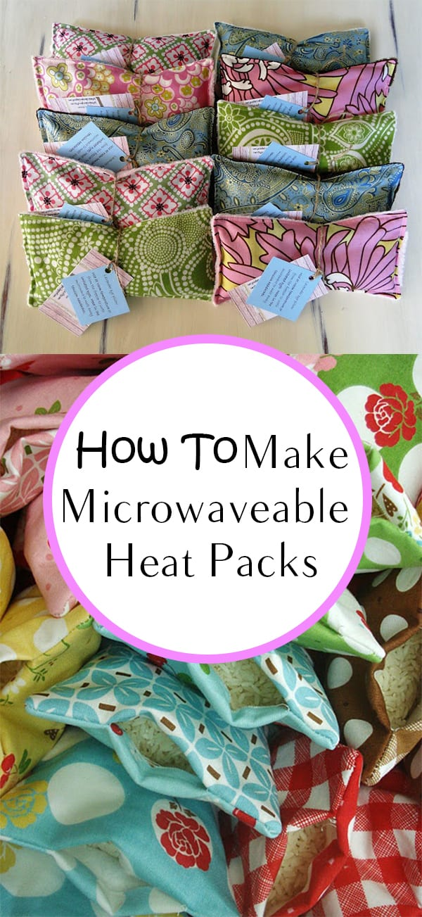 How to make microwaveable heat packs how to build it for How to make christmas crafts for gifts