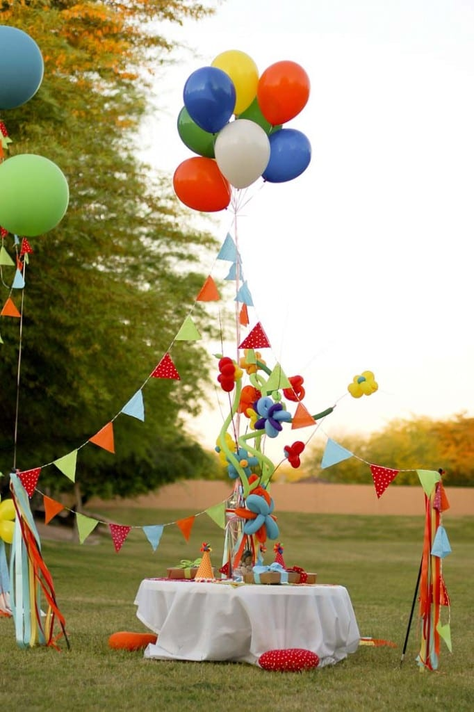 How to Throw The Best Backyard Ever-15 Carnival Ideas