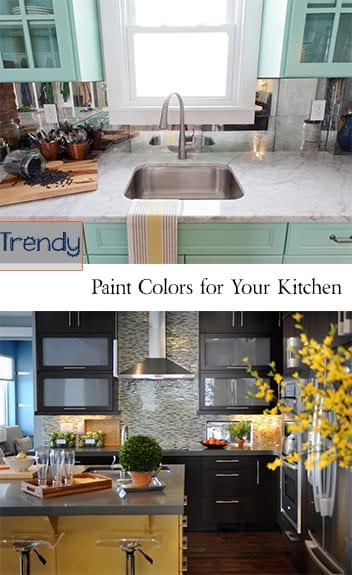 Gorgeous Paint Colors For Your Kitchen
