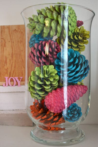 colorful-pinecones