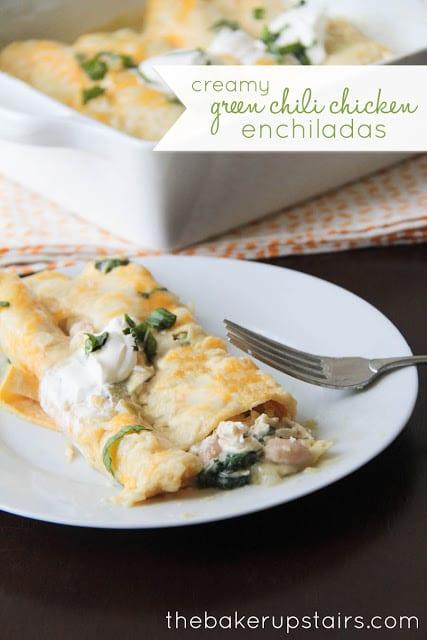 green_chili_chicken_enchiladas