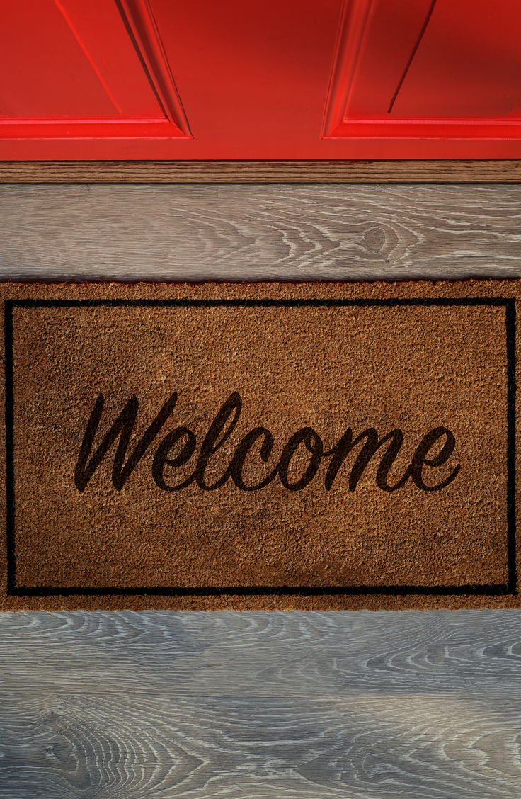 Doormats are perfect house warming gifts! These housewarming gift ideas are something your friends and new neighbors will cherish.