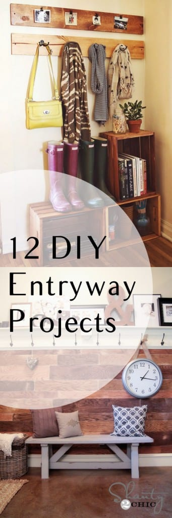 DIY entryway, entryway upgrades, entry way decor, popular pin, DIY home decor, decorating your entry way, entryway storage, home decor, home decorating ideas
