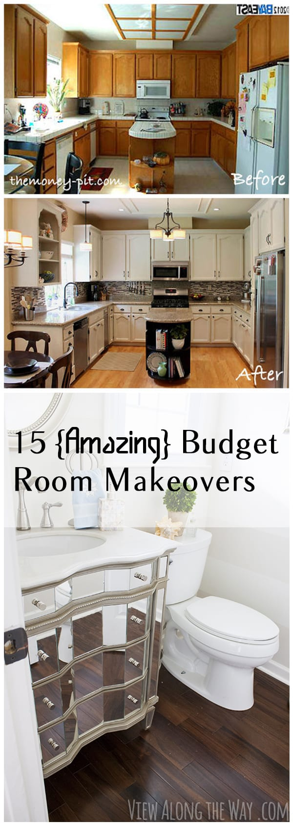 15 budget room makeovers you have to see page 15 of 16 for Cheap home makeovers