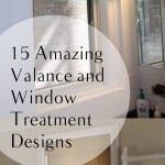 Window treatment, window treatment ideas, valance, DIY window treatment, DIY valance, popular pin, DIY home decor, home decor, easy home upgrades
