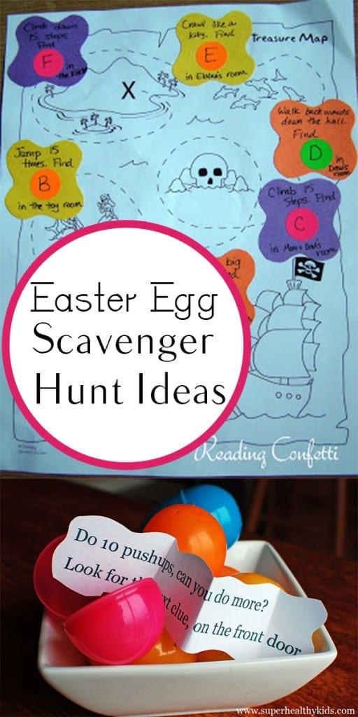 Easter Egg Scavenger Hunt Ideas