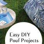 DIY pouf projects, pouf tutorials, DIY tutorials, DIY crafting, easy crafts, popular post, DIY decor, DIY outdoor accessories