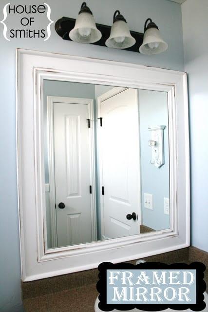 Framed Mirror Tutorial