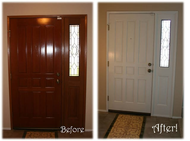 Front Door Before and After 1