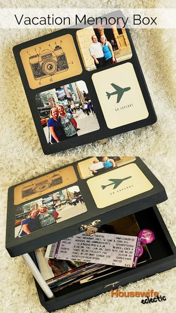 Housewife Eclectic- Vacation Memory Box
