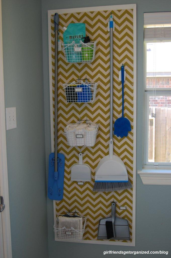 Pegboard Wall System For an Easy AND Creative DIY laundry room project