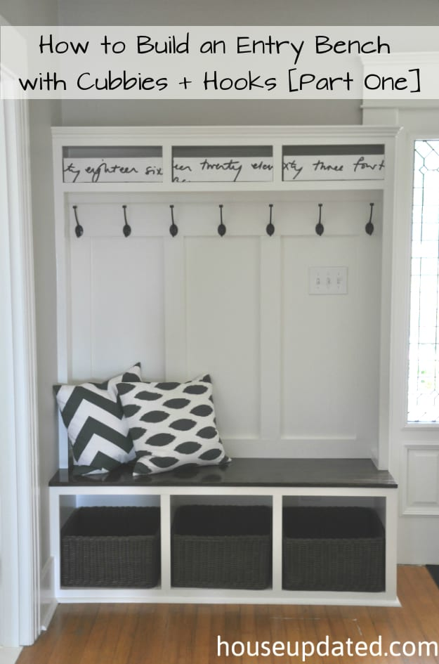 Foyer Bench Xbox One : Diy entryway projects page of how to build it