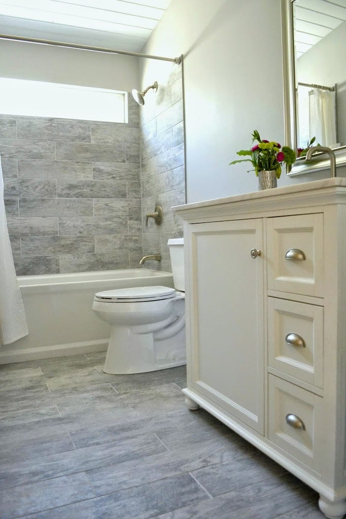 How To Remodel Your Bathroom From Eek Chic On A Budget