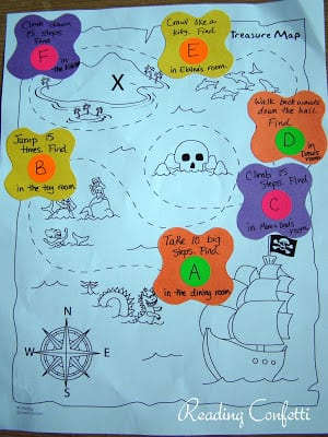 treasure map preschool 3