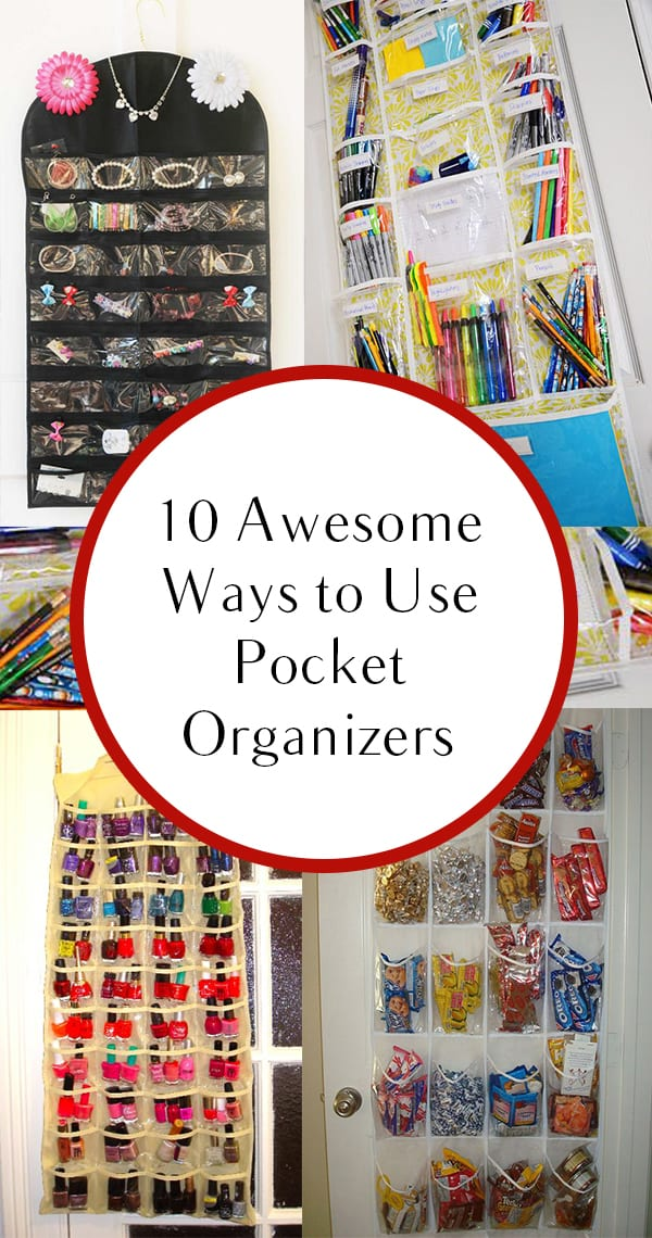 Pocket organizers, pocket organization, awesome pocket organizers, popular pin, DIY storage, DIY organization, easy organization.