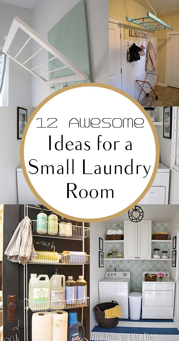 12 Awesome Ideas for a Small Laundry Area - How To Build It