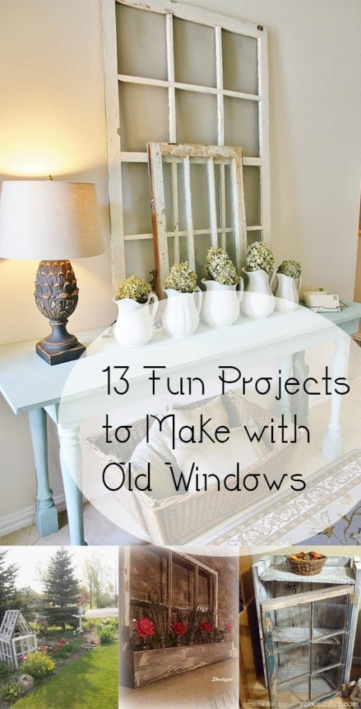 Reuse old windows, DIY window projects, DIY projects, DIY home decor, things to do with windows, repurpose projects, window repurpose, furniture flips, popular pin, home DIY, easy DIY, clever DIY projects.