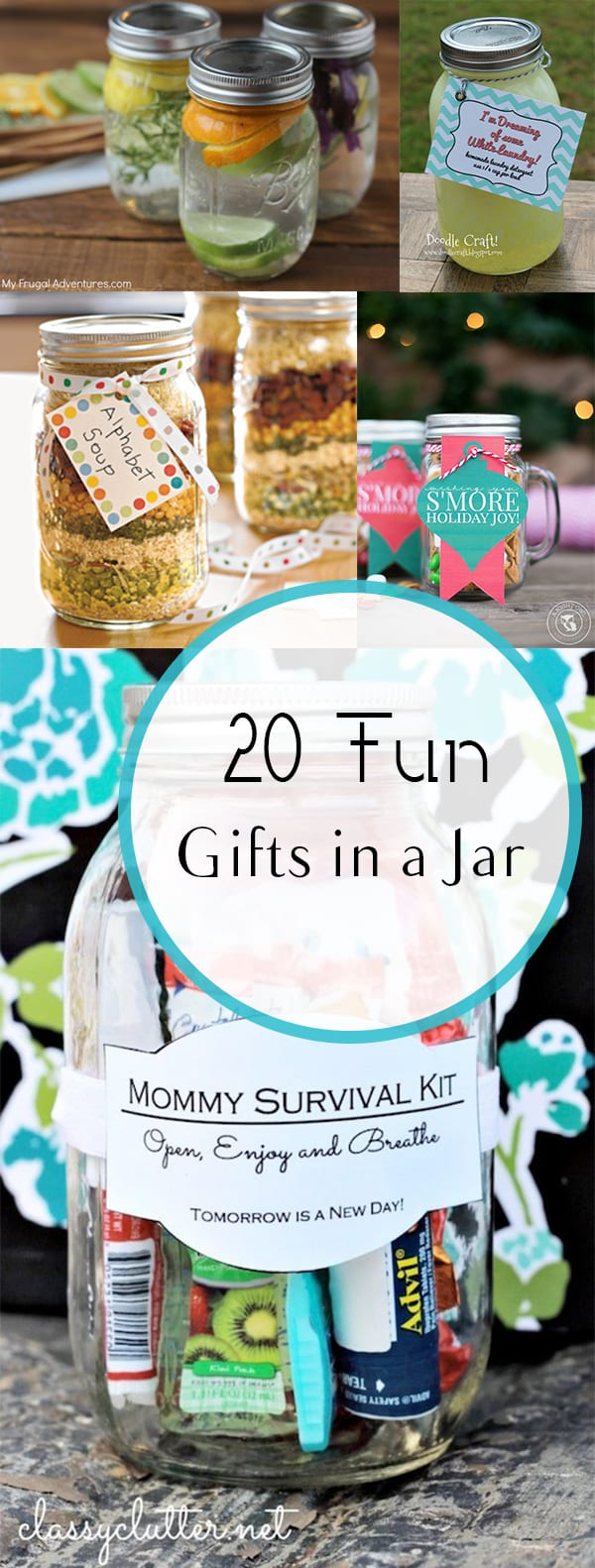 Gifts in a Jar, DIY Gifts in a Jar, Gifts in a Jar Ideas, Gifts in a Jar for Teens, Gifts in a Jar for Her, Gifts in a Jar for Him, DIY, Gifts, Gift Ideas