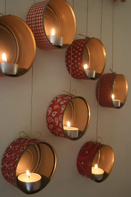 Recycled Tin Can Crafts