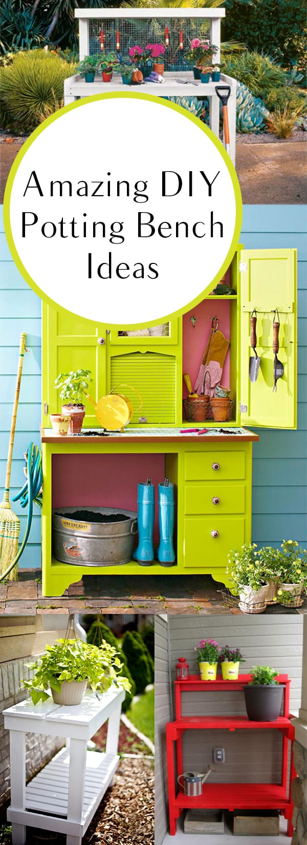 Potting bench ideas, potting shed, DIY potting bench, potting bench designs, popular pin, gardening, gardening hacks, how to garden, gardening hacks, DIY garden, outdoor living, outdoor projects, outdoor DIY