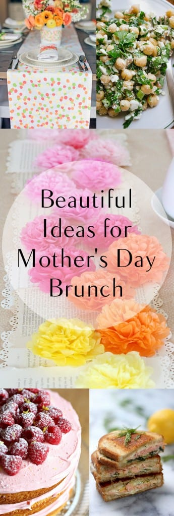 Beautiful Ideas for Mother's Day Brunch