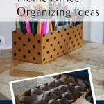 Creative Home Office Organizing Ideas