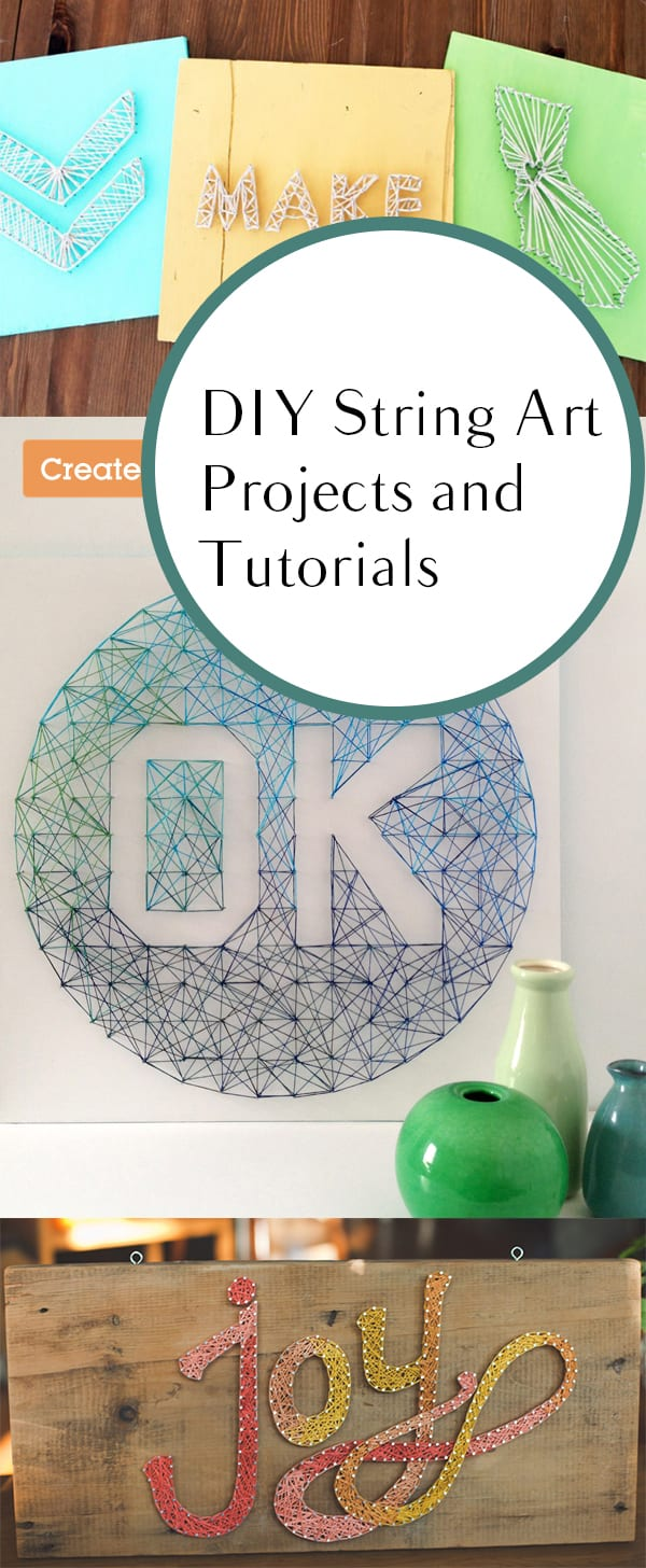 Easy Diy String Art Projects How To Build It