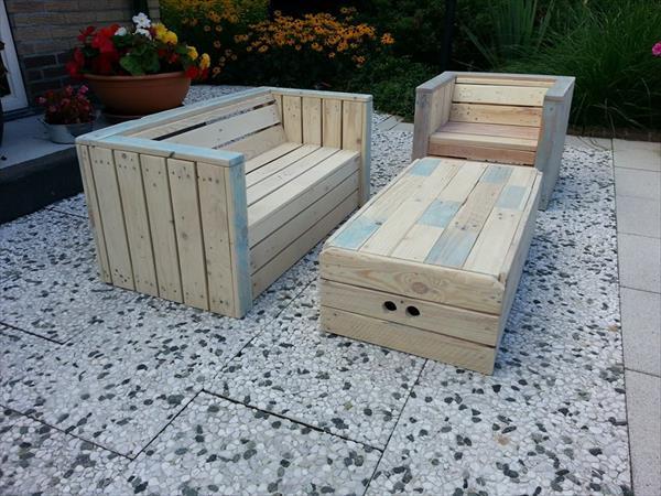 Easy DIY Garden and Outdoor Furniture Ideas