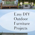 DIY garden projects, garden projects, outdoor furniture ideas, DIY furniture ideas, DIY outdoor projects, popular pin, outdoor living, outdoor projects