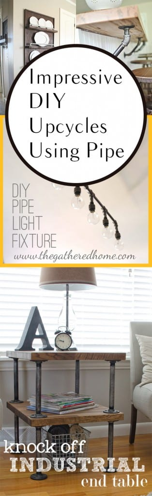 DIY pipe projects, ways to recycle pipe, industrial pipe projects, DIY industrial pipe projects, popular pin, DIY home decor, DIY decorations.