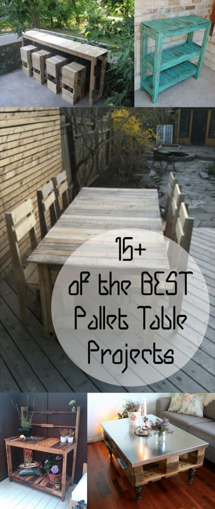 Pallet tables, DIY pallet tables, pallet projects, DIY pallet projects, popular pin, DIY outdoor projects, outdoor project ideas, pallet table tutorial, outdoor furniture, DIY outdoor furniture.