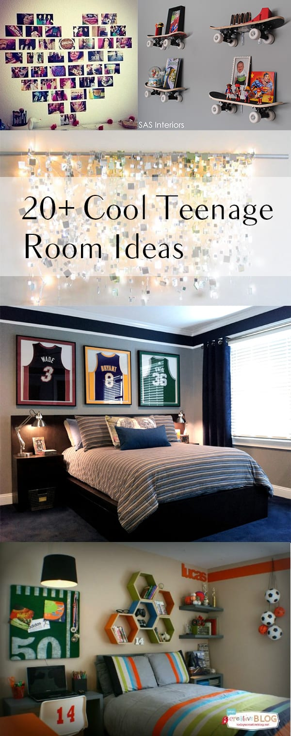 20 cool teenage room decor ideas - Cool room decorating ideas ...