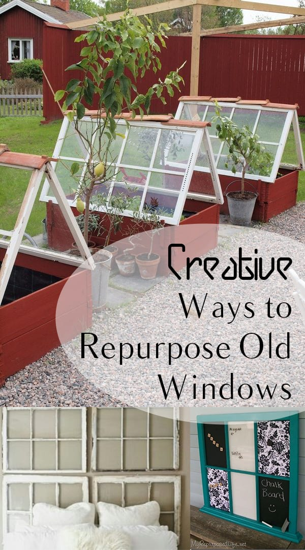 Creative ways to repurpose old windows page 9 of 9 how for Ways to use old windows