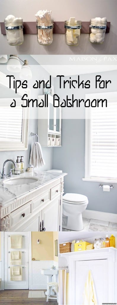 Small bathroom, small bathroom decor, decorating a small bathroom, popular pin, bathroom organization, tiny bathroom tricks, home decor, DIY bathroom, DIY bathroom storage, bathroom storage ideas