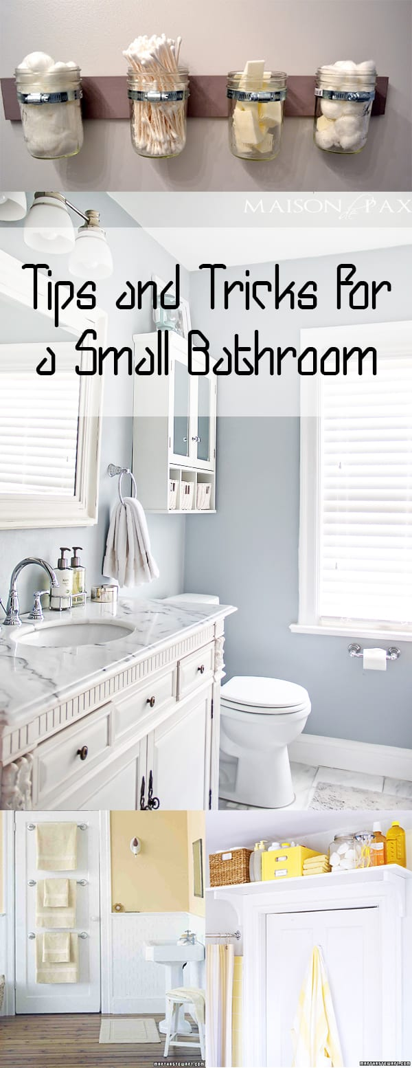 Small bathroom tips tricks and ideas how to build it for Bathroom tips