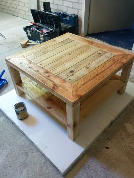 15 Amazing DIY Pallet Tables Page 7 of 18 How To Build It : pallet 6 from howtobuildit.org size 465 x 620 jpeg 47kB