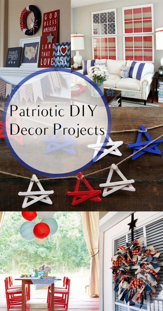 Patriotic DIY Decor Projects