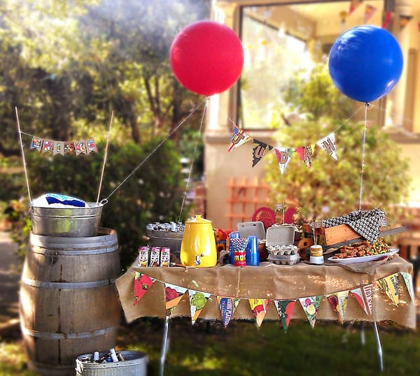 Backyard bbq decoration ideas house decor ideas for Backyard bbq decoration ideas