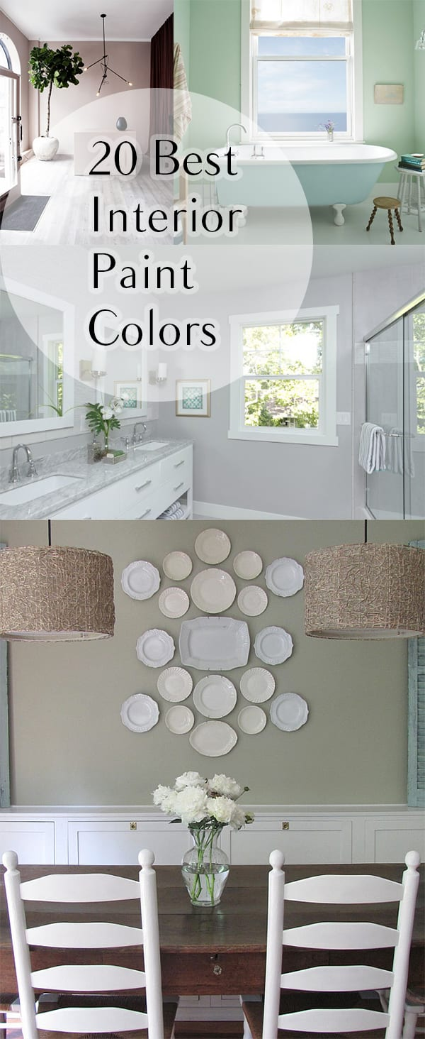 Popular Interior Paint Colors 20 Best Interior Paint Colors How To